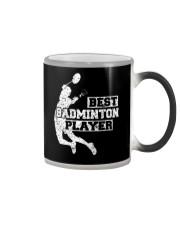 Best Badminton Player Color Changing Mug thumbnail
