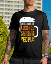 My Tolerance For Alcohol Classic T-Shirt lifestyle-mens-crewneck-front-8