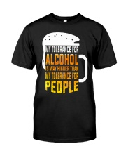 My Tolerance For Alcohol Premium Fit Mens Tee thumbnail