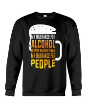 My Tolerance For Alcohol Crewneck Sweatshirt thumbnail