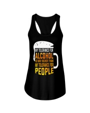 My Tolerance For Alcohol Ladies Flowy Tank thumbnail