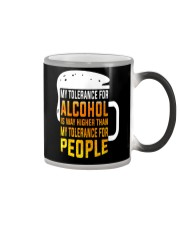 My Tolerance For Alcohol Color Changing Mug thumbnail