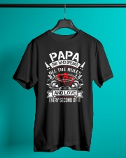 Papa One Who Breaks All The Rules and love every Classic T-Shirt lifestyle-mens-crewneck-front-3