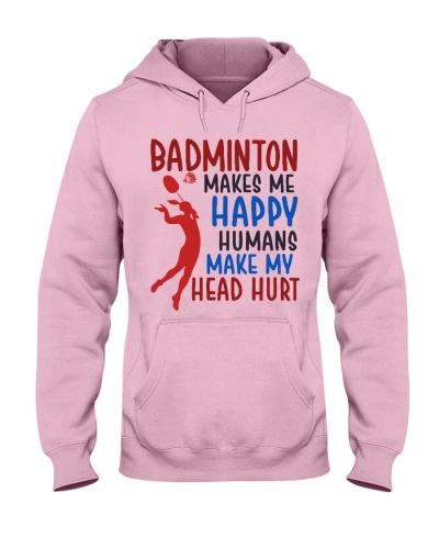 Badminton Makes Me Happy