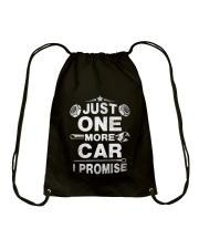 Just One More Car Drawstring Bag thumbnail