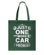 Just One More Car Tote Bag thumbnail