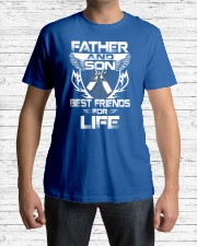 Father And Son Best Friends For Life Classic T-Shirt lifestyle-mens-crewneck-front-1