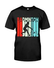 Badminton Unlimited V2 Classic T-Shirt front