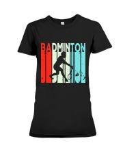 Badminton Unlimited V2 Premium Fit Ladies Tee thumbnail
