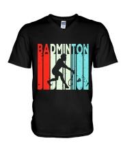Badminton Unlimited V2 V-Neck T-Shirt thumbnail