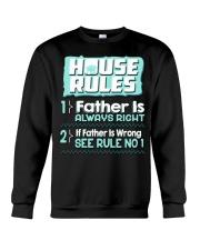 House Rules Father Crewneck Sweatshirt thumbnail