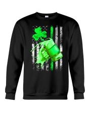 St-Patrick Flag - Beer Splash Crewneck Sweatshirt thumbnail