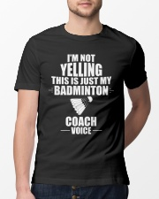 This Is Just My Badminton Coach Voice Classic T-Shirt lifestyle-mens-crewneck-front-13