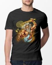 Badminton King Classic T-Shirt lifestyle-mens-crewneck-front-13