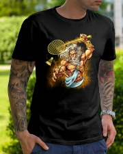 Badminton King Classic T-Shirt lifestyle-mens-crewneck-front-7