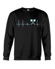 Badminton Heartbeat V2 Crewneck Sweatshirt thumbnail