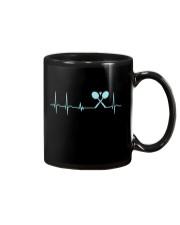 Badminton Heartbeat V2 Mug thumbnail