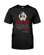 Dear Wife Classic T-Shirt front