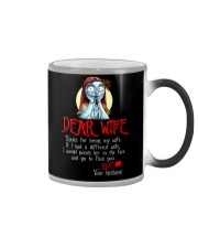 Dear Wife Color Changing Mug thumbnail