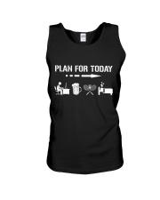 Plan For Today - Badminton V1 Unisex Tank thumbnail