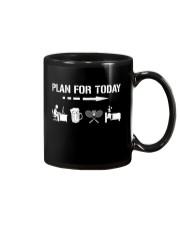 Plan For Today - Badminton V1 Mug thumbnail