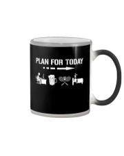Plan For Today - Badminton V1 Color Changing Mug thumbnail