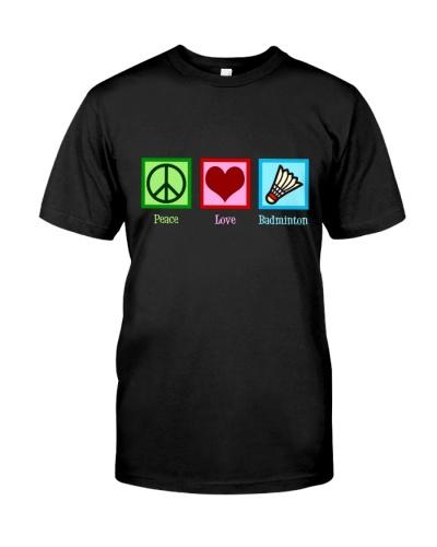 Peace Love Badminton