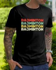 Badminton Unlimited V4 Classic T-Shirt lifestyle-mens-crewneck-front-7
