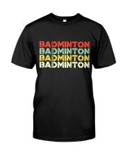 Badminton Unlimited V4 Premium Fit Mens Tee thumbnail