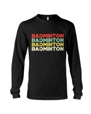 Badminton Unlimited V4 Long Sleeve Tee thumbnail