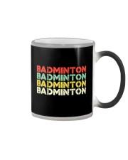 Badminton Unlimited V4 Color Changing Mug thumbnail