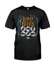 Lord Of The Beers Classic T-Shirt front