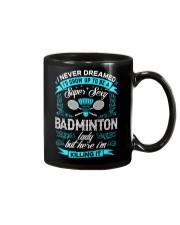 Super Sexy Badminton Lady Mug thumbnail
