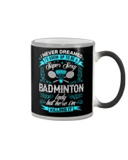 Super Sexy Badminton Lady Color Changing Mug thumbnail