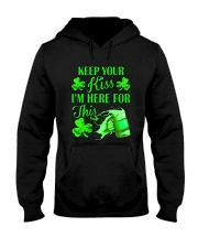 St Patrick Flag - I'm Here For This Beer Hooded Sweatshirt thumbnail