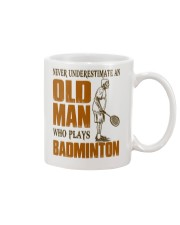 Old Man Who Plays Badminton Mug thumbnail