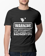 Talking About Badminton Classic T-Shirt lifestyle-mens-crewneck-front-13