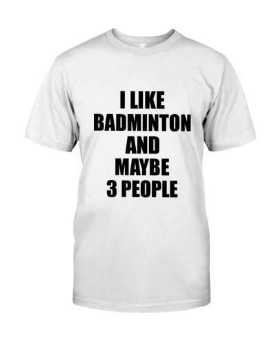 I Like Badminton