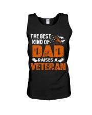 The Best Kind Of Dad Raises A Veteran Unisex Tank thumbnail