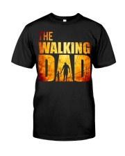 The Walking Dad Classic T-Shirt front