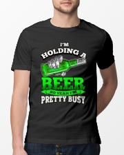I'm Holding A Beer Classic T-Shirt lifestyle-mens-crewneck-front-13