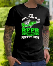 I'm Holding A Beer Classic T-Shirt lifestyle-mens-crewneck-front-7