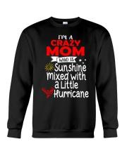 Crazy MOM  Crewneck Sweatshirt thumbnail