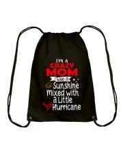 Crazy MOM  Drawstring Bag thumbnail