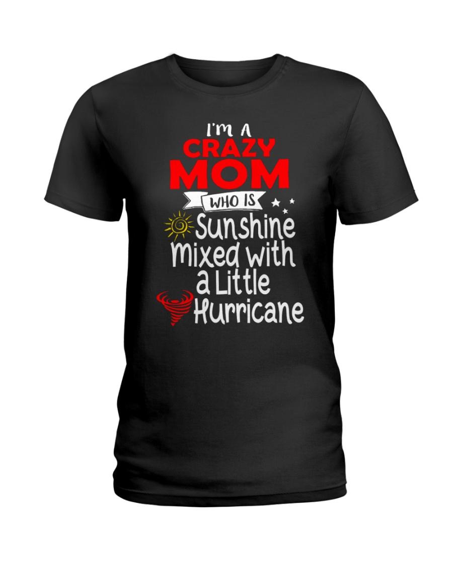 Crazy MOM  Ladies T-Shirt