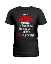 Crazy MOM  Ladies T-Shirt front