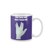 Live Long and Don't Touch Me Mug thumbnail
