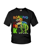Roaring Into Pre K Youth T-Shirt front