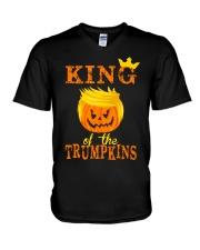 King Trumpkins V-Neck T-Shirt thumbnail