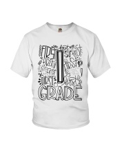 1ST Grade Youth T-Shirt front
